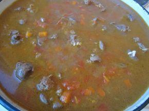 Снимка 7 от рецепта за Пилешки дробчета с ориз и маслини