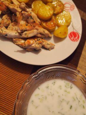 Снимка 3 от рецепта за Пилешки филенца с естрагон