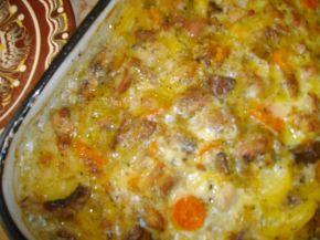 Снимка 4 от рецепта за Пилешки пържоли с гъби и картофи