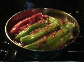 Снимка 2 от рецепта за Пиперки с яйца и сирене