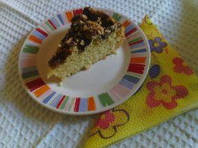 Снимка 2 от рецепта за Пирог със сладко от сливи и орехи