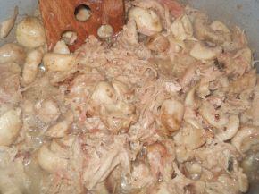 Снимка 2 от рецепта за Пита `Фантазия` от бутер тесто с плънка