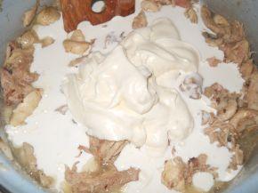 Снимка 3 от рецепта за Пита `Фантазия` от бутер тесто с плънка