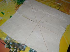 Снимка 5 от рецепта за Пита `Фантазия` от бутер тесто с плънка