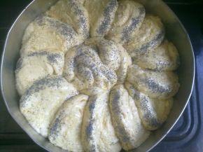 Снимка 2 от рецепта за Пита с кашкавал