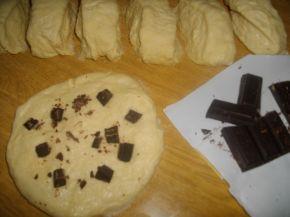 Снимка 2 от рецепта за Пита с локум и шоколад
