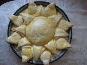 Снимка 7 от рецепта за Пита Слънце за 3-ти март