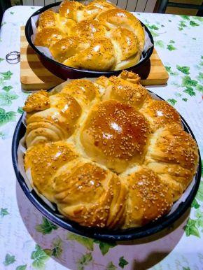 Снимка 2 от рецепта за Питка 65 г