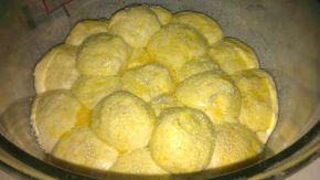 Снимка 3 от рецепта за Питка с бекон и топено сирене