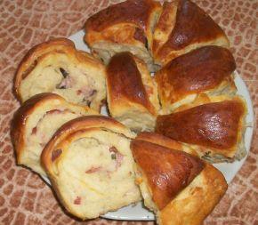Снимка 4 от рецепта за Питка с богата плънка