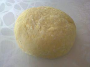 Снимка 5 от рецепта за Питки, рязани с чиния