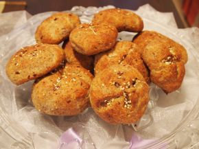 Снимка 8 от рецепта за Питки с ленено брашно