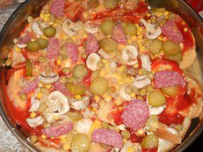 Снимка 3 от рецепта за Пица `Аламинут`