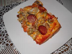 Снимка 6 от рецепта за Пица `Аламинут`