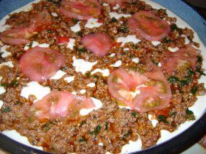 Снимка 3 от рецепта за Пица без месене