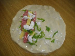 Снимка 3 от рецепта за Пица с тученица