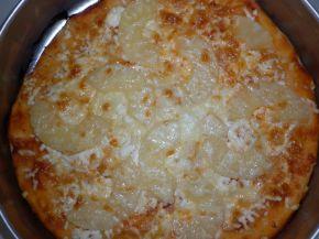 Снимка 5 от рецепта за Моята пица `Хаваи` с готово тесто