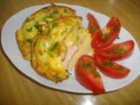 Снимка 7 от рецепта за Пица гратен от хляб