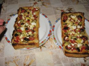 Снимка 2 от рецепта за Пица от хляб