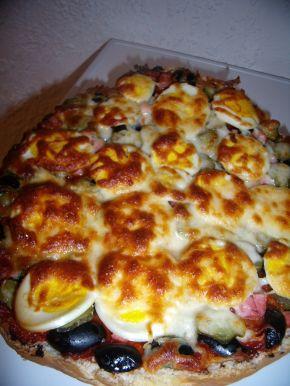 Снимка 5 от рецепта за Пица с питка хляб