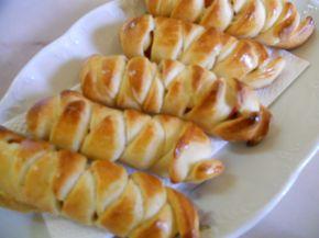 Снимка 6 от рецепта за Плетени кренвиршки