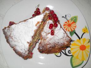 Снимка 4 от рецепта за Плодов сладкиш с вишни и касис
