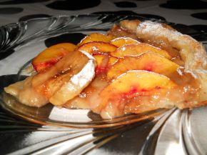 Снимка 4 от рецепта за Плодова тарта с ябълки и праскови