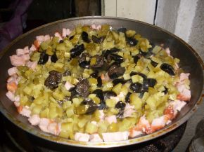 Снимка 4 от рецепта за Побългарени спагети