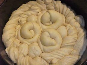 Снимка 4 от рецепта за Погача със сусам