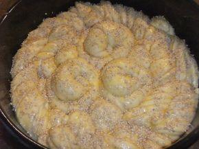 Снимка 5 от рецепта за Погача със сусам