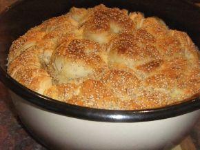 Снимка 6 от рецепта за Погача със сусам