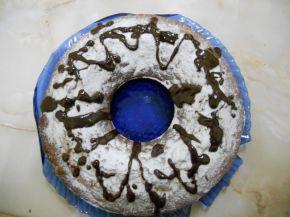 Снимка 3 от рецепта за Портокалов кекс с корнфлейкс