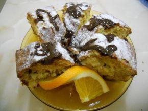 Снимка 4 от рецепта за Портокалов кекс с корнфлейкс