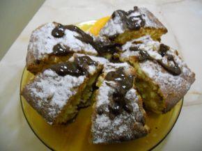 Снимка 5 от рецепта за Портокалов кекс с корнфлейкс