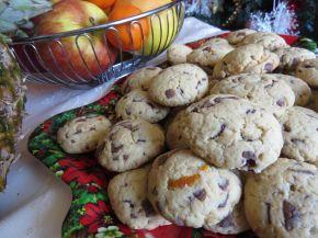 Снимка 2 от рецепта за Портокалови курабийки с шоколад