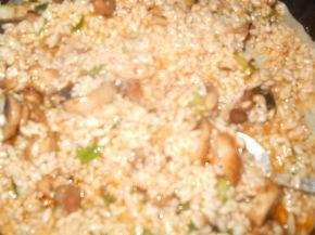Снимка 2 от рецепта за Постни сарми с лападови листа
