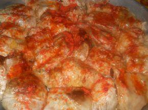 Снимка 2 от рецепта за Постни зелеви сарми в гювеч
