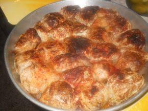 Снимка 3 от рецепта за Постни зелеви сарми в гювеч
