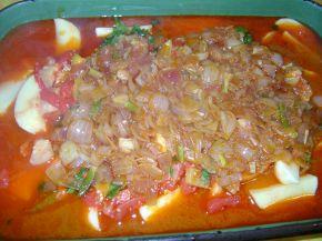 Снимка 4 от рецепта за Постно люто печено