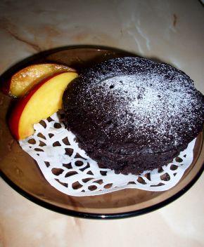 Снимка 4 от рецепта за Постно шоколадово кексче за 1 минута