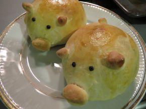Снимка 3 от рецепта за Прасенца от содено тесто с плънка от лук