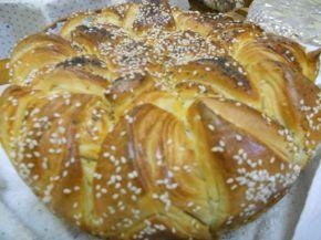 Снимка 5 от рецепта за Празнична погача `Коледна звезда`