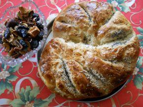 Снимка 3 от рецепта за Празнична погача за Васильовден