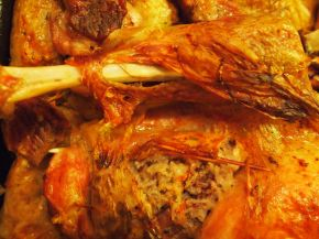 Снимка 3 от рецепта за Празнична пълнена пуйка