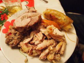 Снимка 5 от рецепта за Празнична пълнена пуйка
