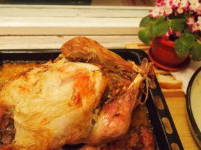 Снимка 6 от рецепта за Празнична пълнена пуйка