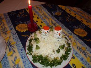 Снимка 2 от рецепта за Празнична салатна торта