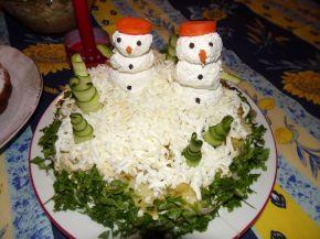 Снимка 4 от рецепта за Празнична салатна торта
