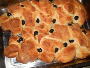 Снимка 2 от рецепта за Празнични хлебчета с маслини