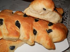 Снимка 3 от рецепта за Празнични хлебчета с маслини